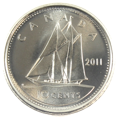 2011 Canada 10-cent Brilliant Uncirculated (MS-63)