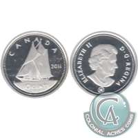 2011 Canada 10-cent Silver Proof