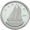 2016 Canada 10-cent Silver Proof