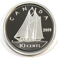 2019 Canada 10 Cents Silver Proof