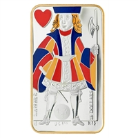2008 Canada $15 Playing Card - Jack of Hearts Sterling Silver (#1)
