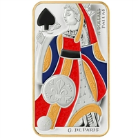 2008 Canada $15 Playing Card - Queen of Spades Sterling Silver (#2)