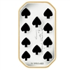 2009 Canada $15 Playing Card - Ten of Spades Sterling Silver (#3)