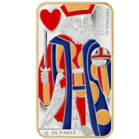 2009 Canada $15 Playing Card - King of Hearts Sterling Silver (#4)