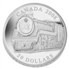 2008 $20 Great Canadian Locomotives - Royal Hudson (No Tax)
