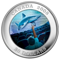 RDC 2008 $30 Canadian Achievements - IMAX Sterling Silver Coin (Toned)