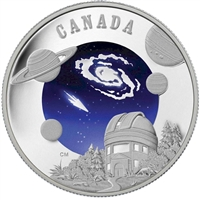 RDC 2009 Canada $30 International Year of Astronomy Sterling Silver (Impaired)