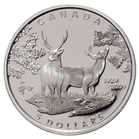 RDC 2009 Canada $5 80th Anniversary of Canada in Japan Sterling Silver (Scuffed Capsule)