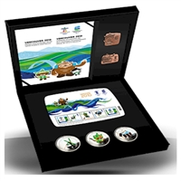 2010 Canada Vancouver Olympics Bronze Collector's Set