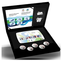 2010 Canada Vancouver Silver Collector's Set issued by the RCM