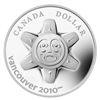 2010 Canada Limited Edition $1 The Sun Proof Sterling Silver Dollar - Toning