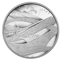 2010 Canada $50 Olympic - The Look of the Games 5oz. Silver (No Tax)