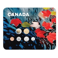 2010 Canada Maple Leaves 6-coin Collector Card