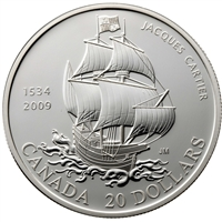 2009 Canada $20 475th Anniversary of Jacques Cartier's Arrival (No Tax)