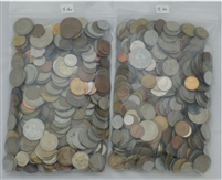 10 Pounds - Mixed World Coins by the Pound