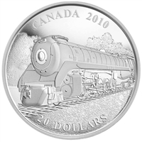 2010 $20 Great Canadian Locomotives - The Selkirk Fine Silver (No Tax)