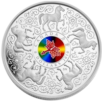 2010 Canada $8 Maple of Strength Sterling Silver Coin
