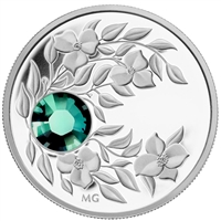2012 Canada $3 Birthstone Collection - May Fine Silver