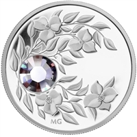 2012 Canada $3 Birthstone Collection - June Fine Silver (No Tax)