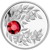 2012 Canada $3 Birthstone Collection - July Fine Silver