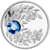 2012 Canada $3 Birthstone Collection - September Fine Silver