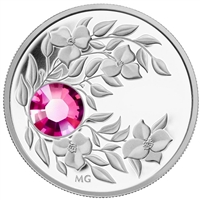 2012 Canada $3 Birthstone Collection - October Fine Silver