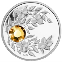 2012 Canada $3 Birthstone Collection - November Fine Silver