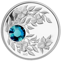 2012 Canada $3 Birthstone Collection - December Fine Silver