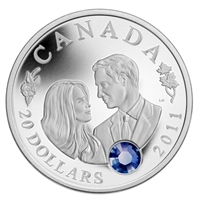 2011 Canada $20 Prince William & Kate Middleton Wedding (No Tax)