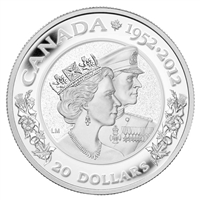 2012 Canada $20 The Queen's Diamond Jubilee Double Effigy (TAX Exempt)