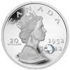 2012 Canada $20 The Queen's Diamond Jubilee with Crystal (TAX Exempt)