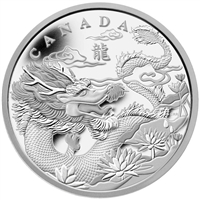 2012 Canada $250 Silver Kilo Year of the Dragon (TAX Exempt)