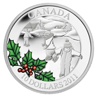 2011 Canada $10 Little Skaters Fine Silver Coin (TAX Exempt).