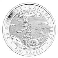 2012 Canada $20 Group of Seven - F.H. Varley (#1) Silver (No Tax)