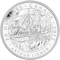 2012 Canada $20 Group of Seven - Arthur Lismer (TAX Exempt)