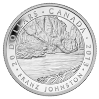 2013 Canada $20 Group of Seven - Franz Johnston Fine Silver (No Tax)