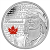 2012 Canada $4 Heroes of 1812 - Tecumseh Fine Silver (No Tax).