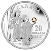 2012 Canada $20 The Three Wise Men Fine Silver Coin (TAX Exempt)