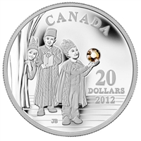 2012 Canada $20 The Three Wise Men Fine Silver Coin