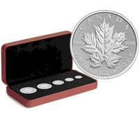 2013 Canada Silver Maple Leaf Anniversary Fractional Set (No Tax)