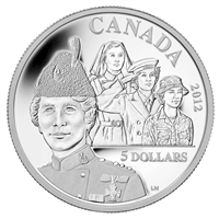 2012 Canada $5 Georgina Pope Fine Silver Coin (TAX Exempt)
