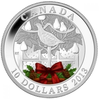 2013 Canada $10 A Partridge in a Pear Tree Fine Silver (No Tax)