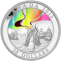 2013 Canada $20 Story of the Northern Lights: The Great Hare (No Tax)