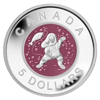 2013 Canada $5 Aboriginal Art - Mother & Baby Ice Fishing (No Tax)