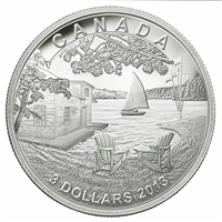RDC 2013 Canada $3 Martin Short Presents Canada Fine Silver (No Tax) Residue