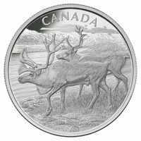 2013 Canada $250 The Caribou Fine Silver Kilo Coin (No Tax) - 127070