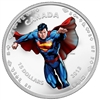 2013 Canada $15 Modern Day Superman 1/2oz. Fine Silver (No Tax)