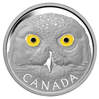 2014 Canada $250 In The Eyes Of The Snowy Owl Silver Kilo (No Tax)