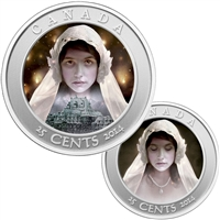 2014 Canada 25-cent Haunted Canada - Ghost Bride Cupronickel (#1)