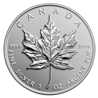 2014 Canada $5 Maple Leaf Reverse Proof Bullion Replica (No Tax)